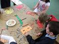 Le Cheile Art Workshop at St Micheals School Castlepollard